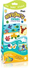 Quill On Spyrosity Amazing Ocean Theme Pack for Fun and Easy Quilling Activity (Multicolour)