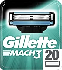 Gillette Mach3 Rasierklingen, 20 Stück