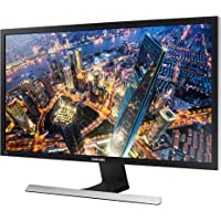 Samsung U28E570D Monitor 28 Pollici, UltraHD, 4K, 3840 x 2160, 1 ms, 16:9, 60 Hz, 2160p, LED, AMD FreeSync, 2 HDMI, Display Port Incluso, Nero