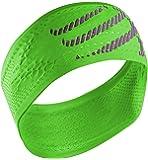 Compressport Stirnbänder HeadBand Laufstirnband, Grün, One Size