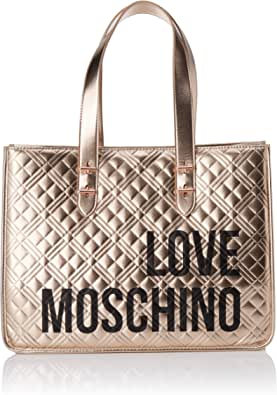 Love Moschino Damen Jc4209pp0a Tragetasche (Tote Bag), 16x31x42 Centimeters (W x H x L)