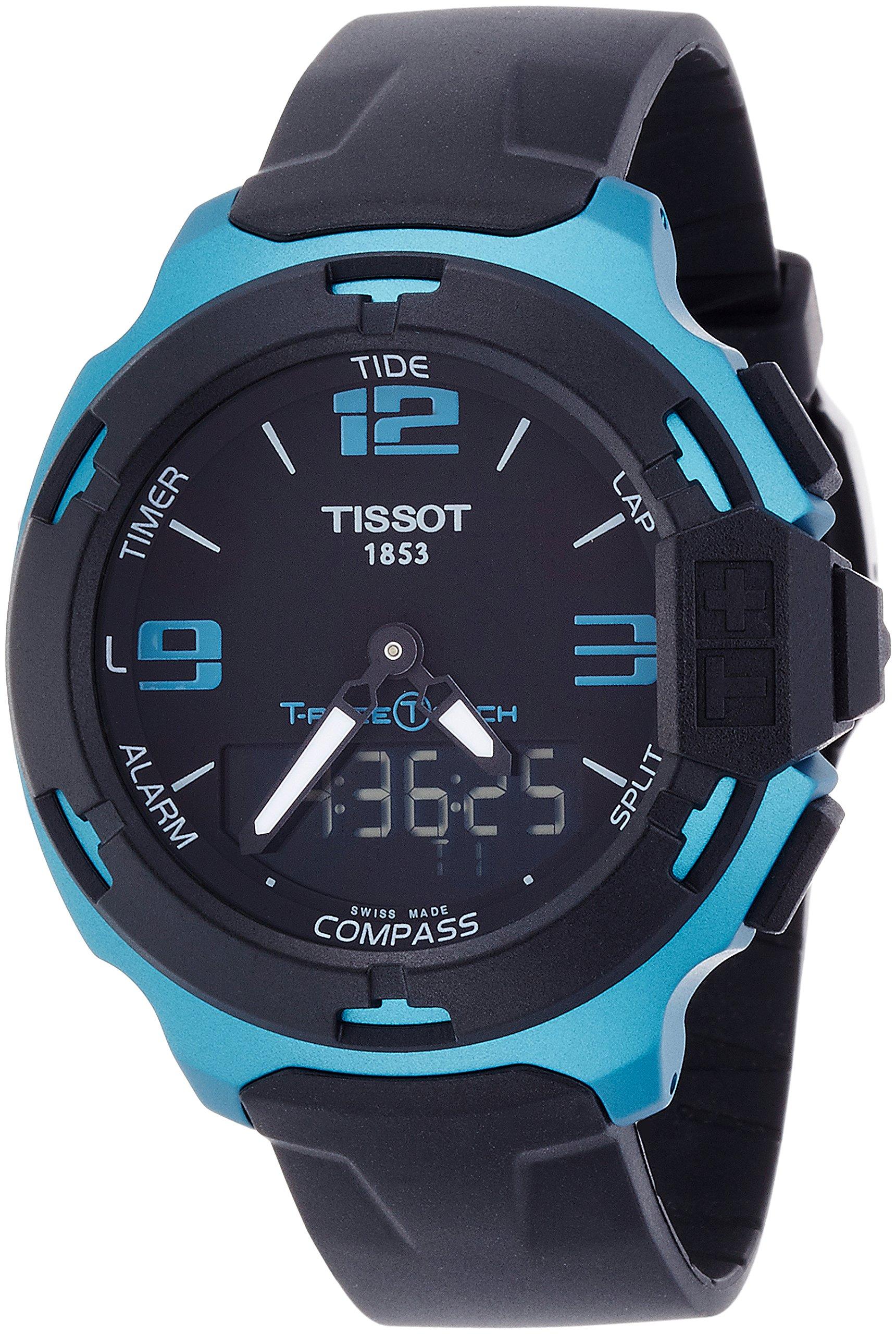 Tissot Reloj Analógico-Digital para Hombre de Cuarzo con Correa en Silicona T081.420.97.057.04