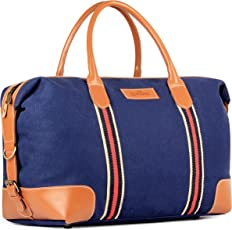 The Clownfish Grace Series Canvass 48 ltrs Travelling Blue Duffel Bag |(Blue)