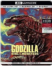 Godzilla: King of the Monsters(Steelbook) (4K UHD + Blu-ray 3D + Blu-ray) (3-Disc)