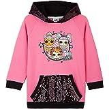 L.O.L. Surprise! Girls Hoodies, LOL Dolls Pink Kids Sweatshirt With Sequin