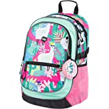 Baagl Schulrucksack für Mädchen - Schulranzen für Kinder mit ergonomisch geformter Rücken, Brustgurt und reflektierende Eleme
