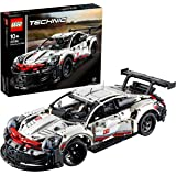 LEGO 42096 Technic Porsche 911 RSR Raceauto Exclusief Verzamel en Displaymodel, Bouwpakket Auto, Geavanceerde Racewagen