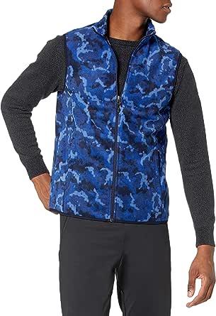 Sliktaa Homme Gilet Polaire Chaud hiver Manteau sans Manches Enti/èrement Zipp/é Confort Doux Outerwear-Vests pour Homme