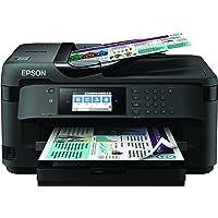Epson WorkForce WF-7715DWF - Stampante multifunzione a colori a getto d'inchiostro, A3 (supporto), fino a 32 ppm (stampa…