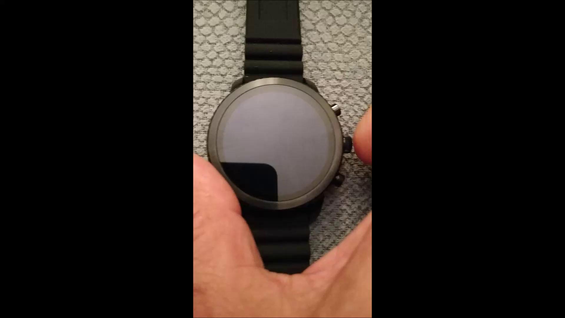 Smartwatch Fossil Q Explorist de Hombre Gen 3, Caja de acero inoxidable negro con correa de silicona negra, Compatible con Android e iOS: Amazon.es: Relojes