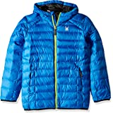 Spyder Boys' Geared Hoody Synthetic Down Jacket Abrigos de plumón Niños