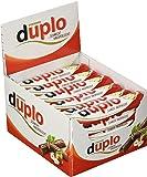 duplo - 40 Einzelriegel, einzeln verpackte Schokoriegel, knusprige Waffeln umhüllt von einer köstlichen, zartschmelzenden Vollmilchschokolade, ohne Farb- und Konservierungsstoffe