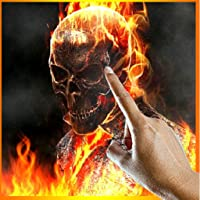 Ghost Rider Fire Flames LWP