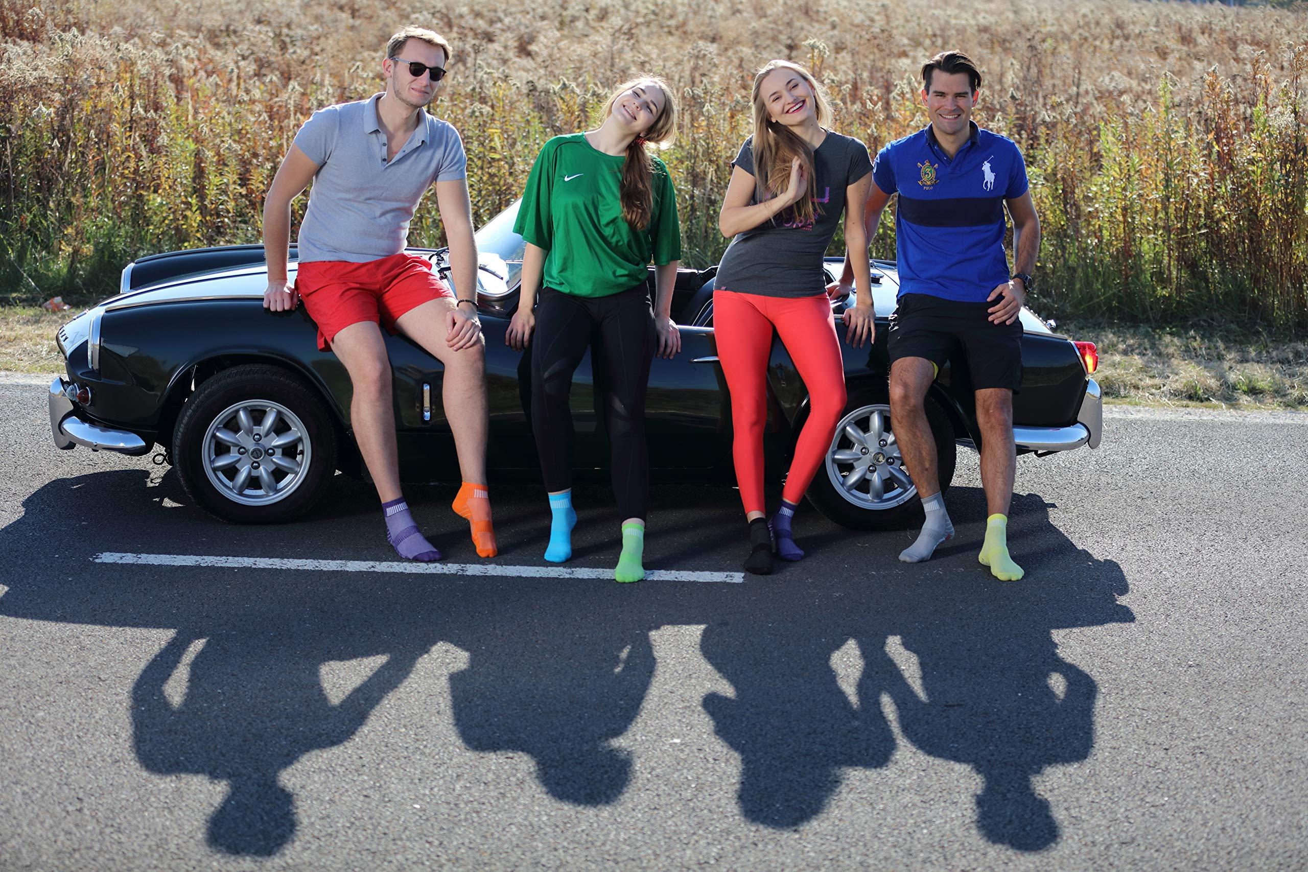 Rainbow Socks Hombre Mujer Calcetines Deporte Colores de Algod/ón