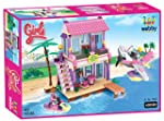 Webby Dream Girls Beach Villa Building Set , Multi Color (423 Count)