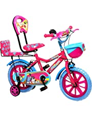 NY Bikes DS 14 Pink Sky Bicycle for Kids 3 to 5 Years Age Group (Pink Sky)
