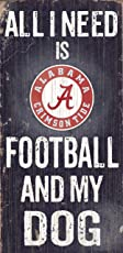 Fan Creations C0640 University of Alabama Football and My Dog Sign