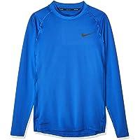 Nike M NP Top LS Tight Mock Maglietta a Maniche Lunghe Uomo