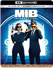 MIB: Men in Black - International (Steelbook) (4K UHD + HD + Bonus Disc) (3-Disc)