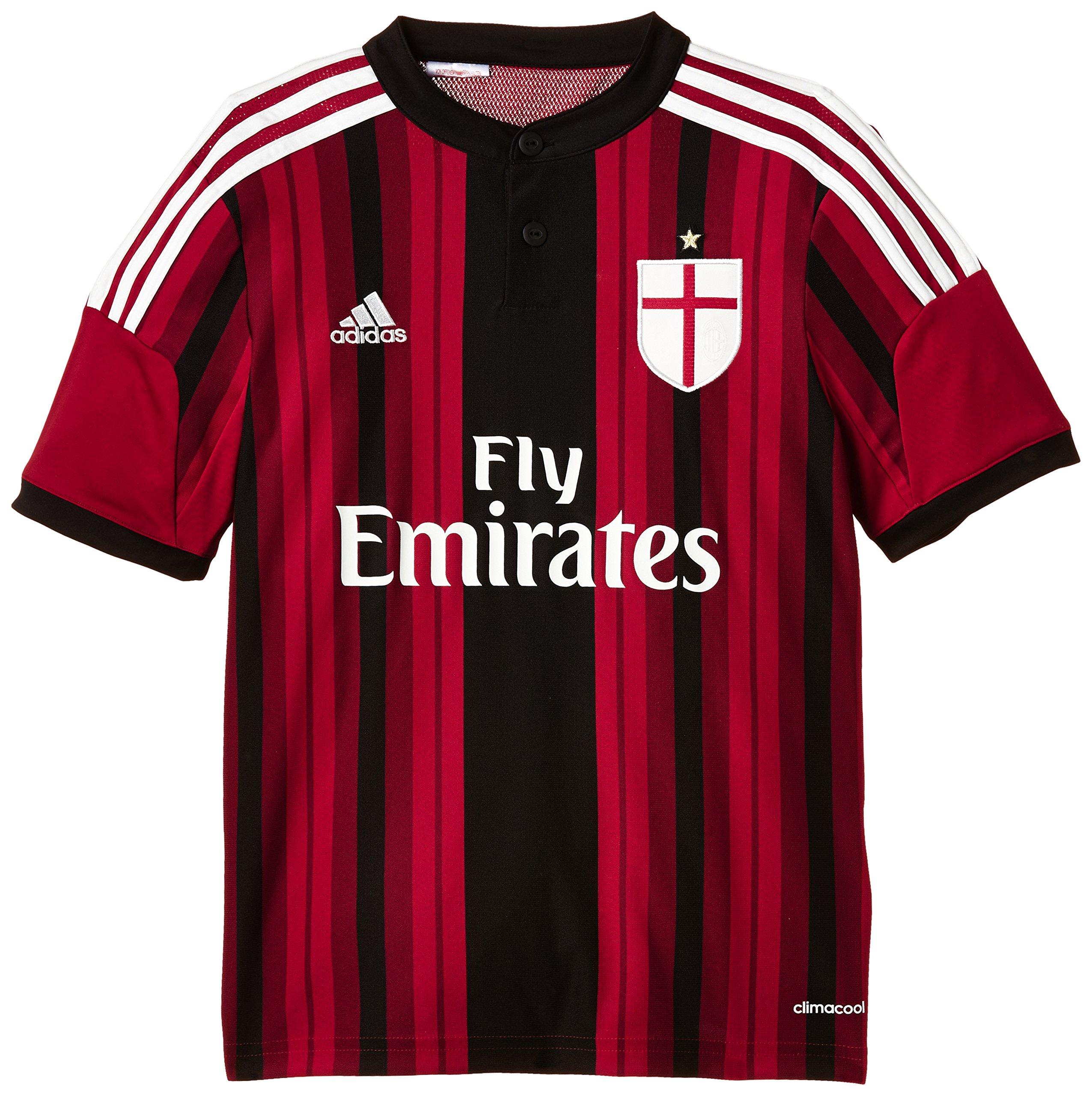 lowest price 71e94 1a046 adidas, Maglia Sportiva Bambino AC Milan Replica Home
