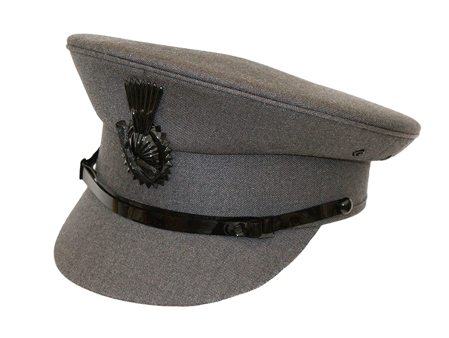 Mens leather gloves amazon uk - Chauffeurs Driver Cap With Cockade Men S Formal Traditional Satin Lined Hat