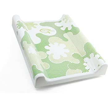 Changing Table Top Changing Mat Cot Bet Changing Mat PVC Cotbed Changing Pad 70x50 cm Changing Pad Changing Mat with hard base Blue Changing Cover