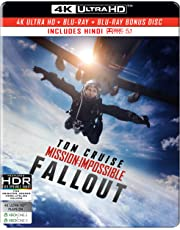 Mission: Impossible 6 - Fallout (Steelbook) (4K UHD & HD)