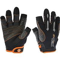 MOTIVEX® Professional Vela Guanti Nero/Arancione, Taglia S alla XL