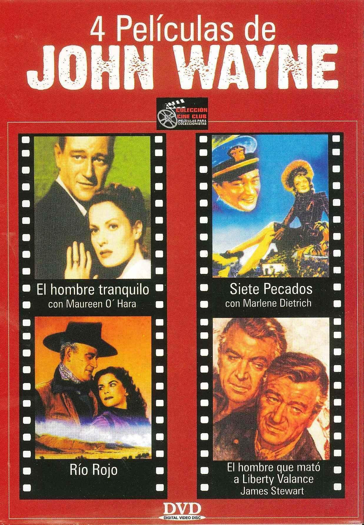 4 Peliculas De John Wayne [Edizione: Francia]