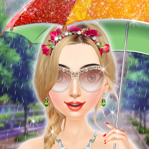 Glam Doll Rainy Day Beauty Salon - Game for Girls