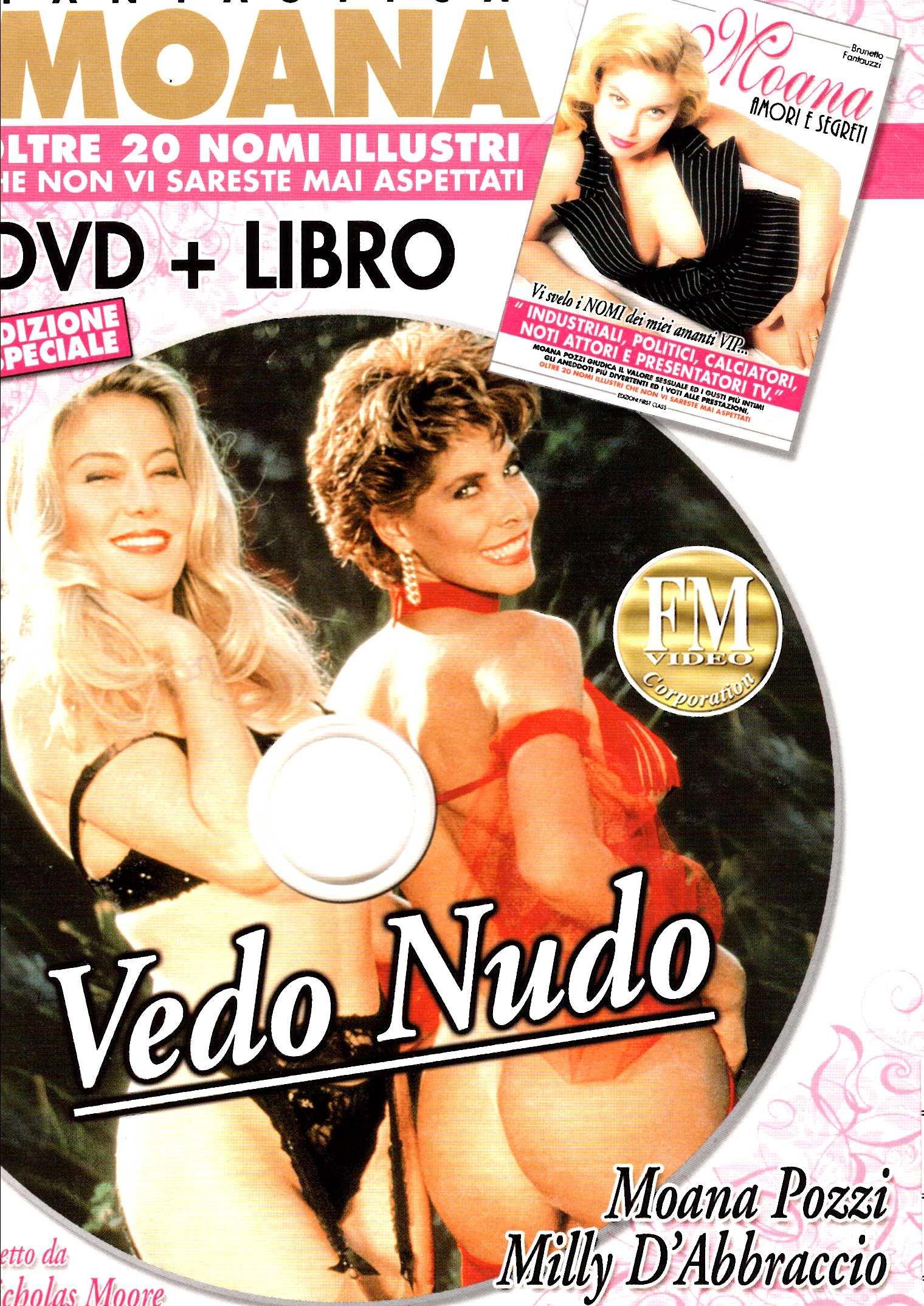 Moana - vedo nudo + Book (XXX Adult) (Dvd) Italian Import