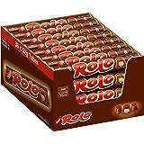 Rolo Melkchocolade Karamel - voordeelverpakking - doos met 36 chocoladerollen