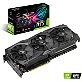 Asus ROG-Strix-RTX2070-A8G-Gaming Grafikkarte (Nvidia, PCIe 3.0, 8GB DDR6 Speicher, HDMI, Displayport, USB Type-C)