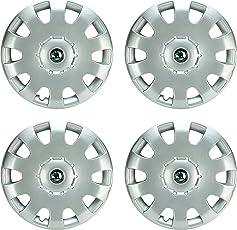Hotwheelz Premium Quality OEM Replacement Wheel Cover for Skoda Octavia 15 inch (Set of 4pc)