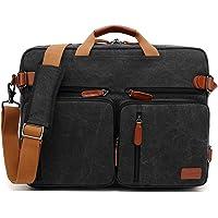 CoolBELL umwandelbar Aktentasche Messenger Bag Umhängetasche 17.3 Inch Laptop Tasche Business Backpack Multifunktions…