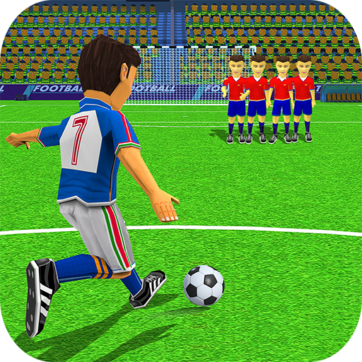 Kids Football Strike Soccer Free Kick Shootout