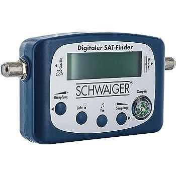 Schwaiger 5170 Sat Finder Digital Satellitenerkennung Amazon De
