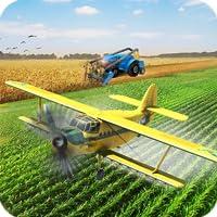 En volant Drone Agriculture Avion Vol Simulateur 2019: Virtuel Agriculture Jeux Libre pour Des gamins