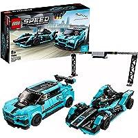 LEGO 76898 Speed Champions Formula E Panasonic Jaguar Racing GEN2 & Jaguar I-Pace eTROPHY, Jouet Petite Voiture de…