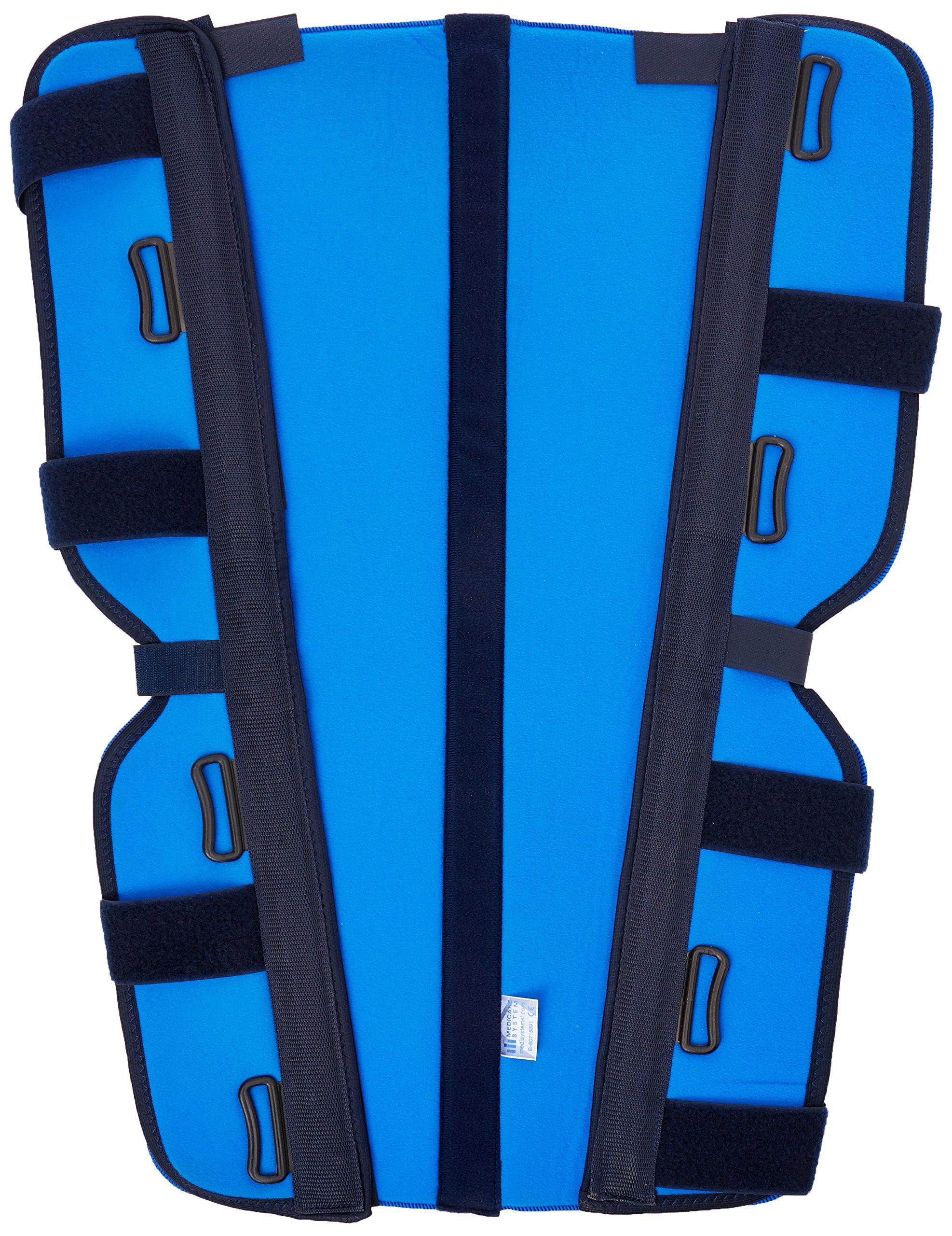 Medicare sistema sof0475suave bienes Ortocel suave sfo0475rodillera, XL, 70cm), color azul
