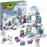 LEGO DUPLO Princess TM - Frozen Castillo de Hielo, Juguete de Palacio de Princesas, Set de construcción didáctico, Novedad 20