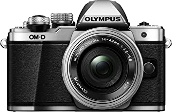 Olympus Mark II OM-D E-M10 17.2MP Mirrorless Digital Camera with 50x Optical Zoom (Black and Silver)