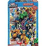Educa - 15560 - Puzzle - Les Héros de Marvel - 500 Pièces