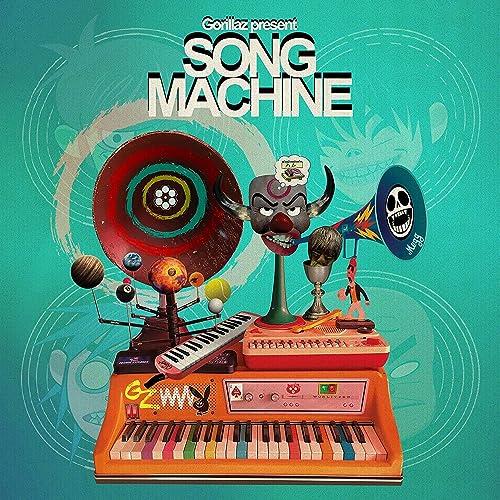 "Gorillaz Presents Song Machine, Season 1-Limited Edition 1 x 140g 12"" Vinile Blu- Esclusiva Amazon.It"
