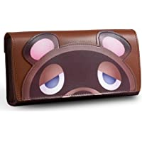 PALPOW Leather Carrying Case for Nintendo Switch Lite, Portable Clutch with Game Card Holder (Brown)
