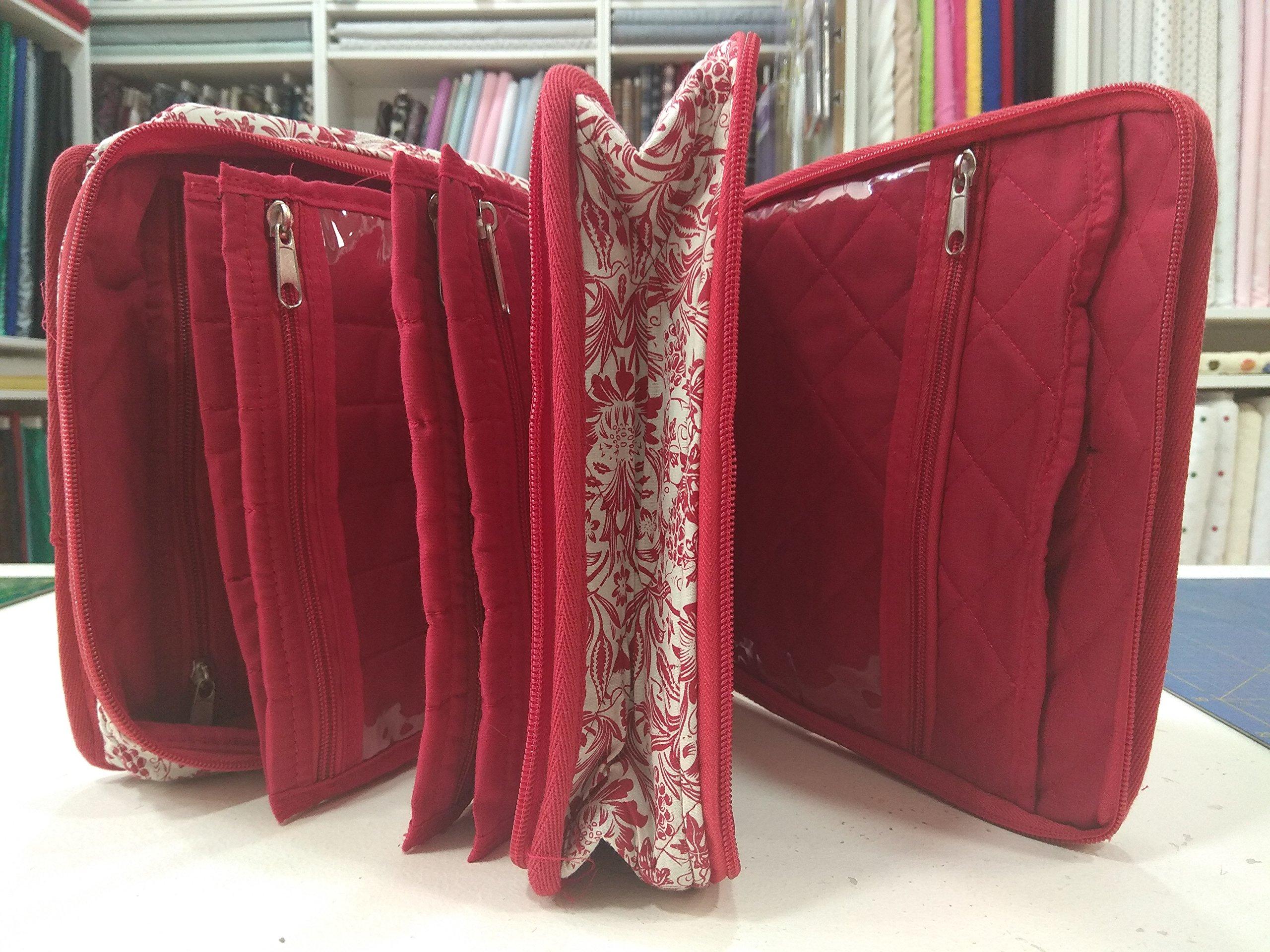 ideas de costura Organizador De Costura Ideas Rojo