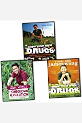 James Wong 3 Books Collection Pack Set RRP: £53.98 (James Wong's Homegrown Revolution, Grow Your Own Drugs, Grow Your Own Drugs) Hardcover