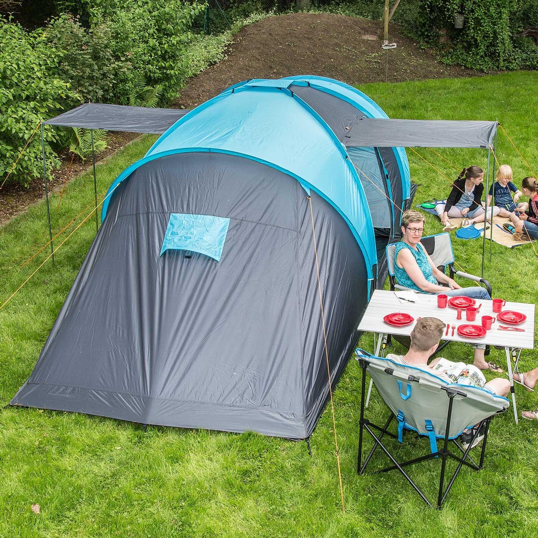 skandika hammerfest 6 personen camping zelt mit 2. Black Bedroom Furniture Sets. Home Design Ideas