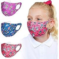 L.O.L. Surprise! Mascherina Lavabile Per Bambini, Pacco Da 3 Mascherine Colorate, Maschera In Tessuto Accessori Lol…