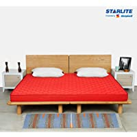 Sleepwell Starlite Mega Extra Firm Bonded Foam Mattress (72*72*4)